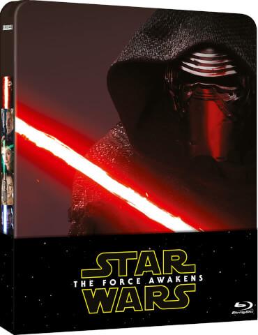 Star Wars: El Despertar de la Fuerza (Edición de Reino Unido) Steelbook de Edición Limitada Blu-Ray