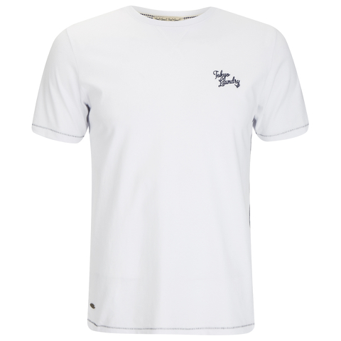 Tokyo Laundry Men's Essential Crew T-Shirt - Optic White