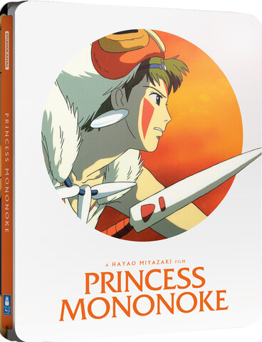 Princess Mononoke - Zavvi Exclusive Limited Edition Steelbook (Limited to 2000 Copies)