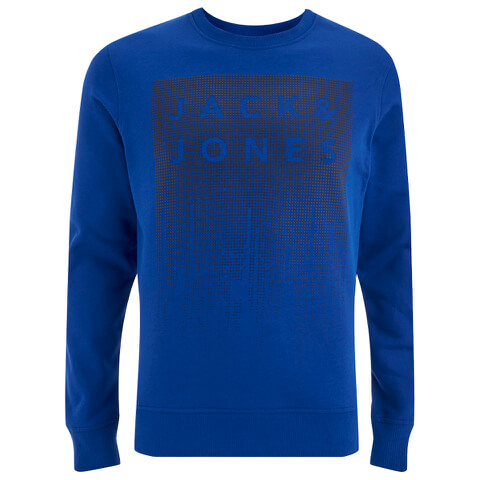 Jack & Jones Men's Core Noise Sweatshirt - Surf The Web