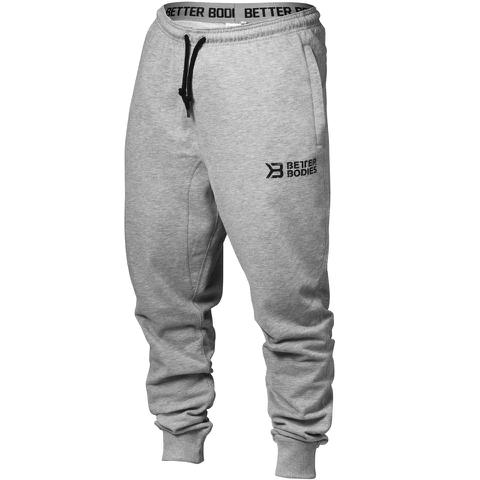 Better Bodies Men's Tapered Sweatpants - Grey Melange