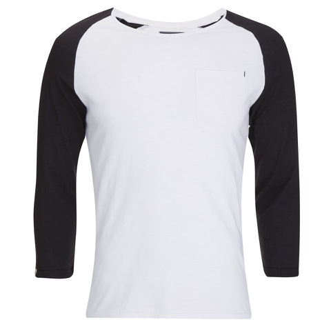 Produkt Men's 3/4 Raglan Sleeve Top - Black