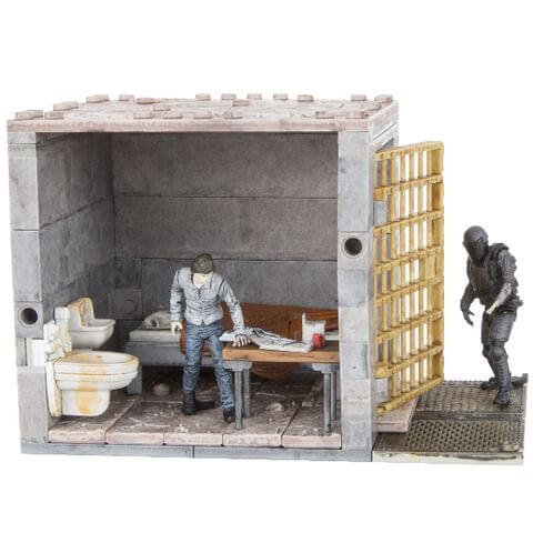 McFarlane The Walking Dead Lower Prison Cells Bouwpakket
