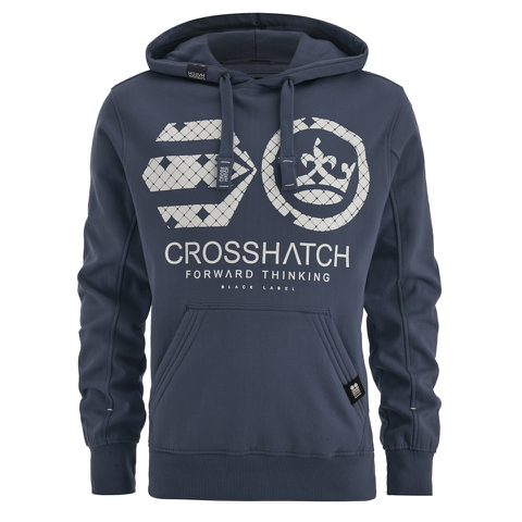Crosshatch Men's Arowana Hoody - Insignia Blue