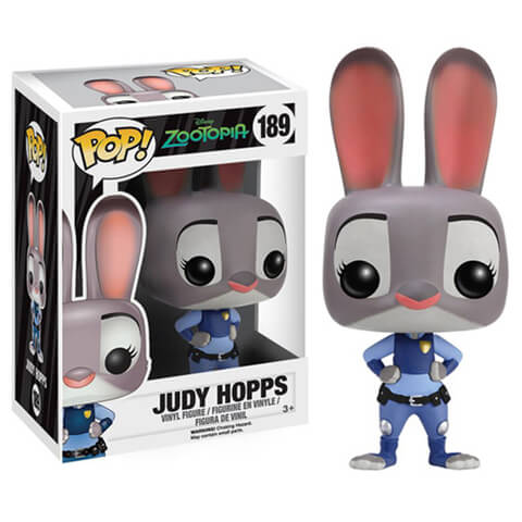 Figura Pop! Vinyl Disney  Zootopia Judy Hopps