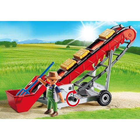 Playmobil Country Hay Bale Conveyor (6132)