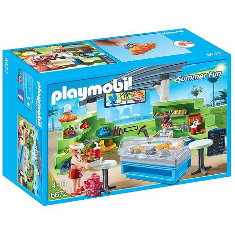 Playmobil Summer Fun Splish Splash Café (6672)