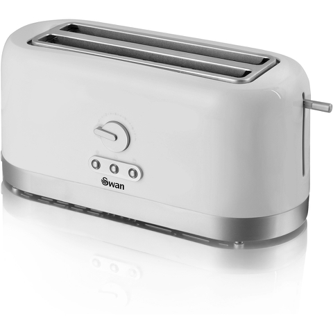Swan ST10090N 4 Slice LongSlot Toaster - White