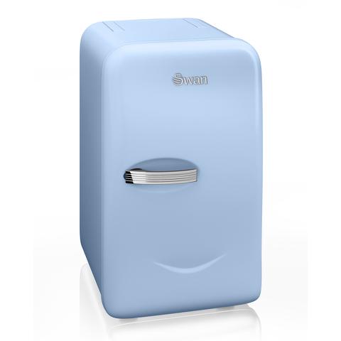 Swan SRE10010BLN Retro Mini Fridge - Blue