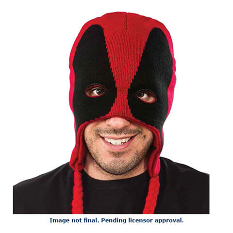 Marvel Deadpool Fleece Laplander Hat