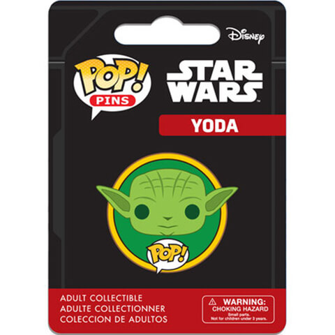 Star Wars Yoda Pop! Pin Badge