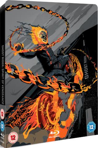 Ghost Rider: Spirit of Vengeance - Steelbook Exclusivo de Edición Limitada