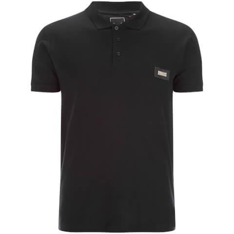 Brave Soul Men's Babylon Polo Shirt - Black