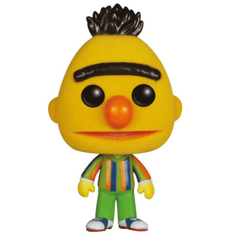 Sesame Street Bert Flocked Funko Pop!