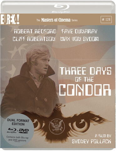 Three Days Of The Condor - Dual Format (Includes DVD)