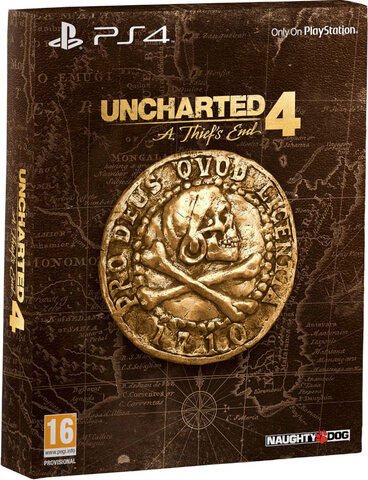 Uncharted 4: A Thief's End - Special Edition