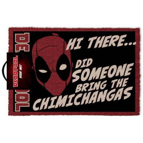 Marvel Deadpool Felpudo
