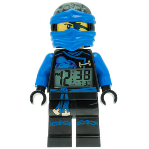 LEGO Ninjago Sky Pirates Jay Mini Figure Alarm Clock