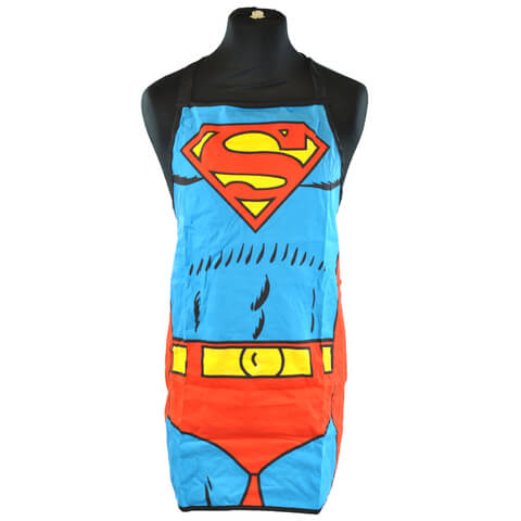 DC Comics Superman Apron in a Tube (6.5 x 28 x 6.5cm)