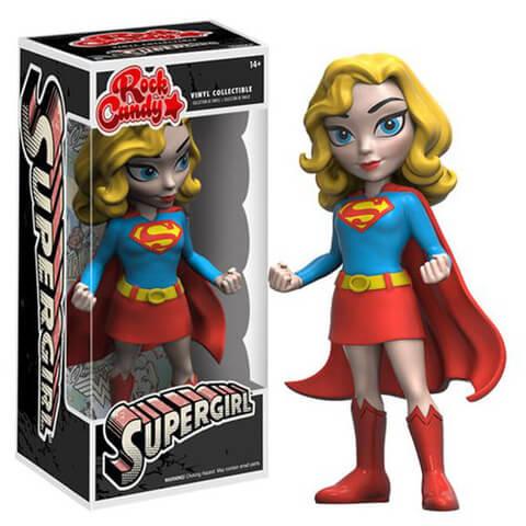 Figurine Supergirl Version Classique - Rock Candy Vinyl