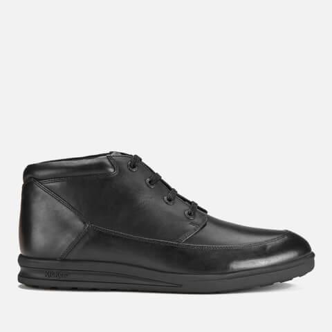 Bottines Lacets Kickers Troiko -Noir