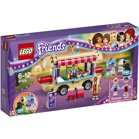 LEGO Friends: La camionnette à hot-dogs du parc d'attractions (41129)