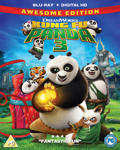 Kung Fu Panda 3 3D (Includes 2D Version)
