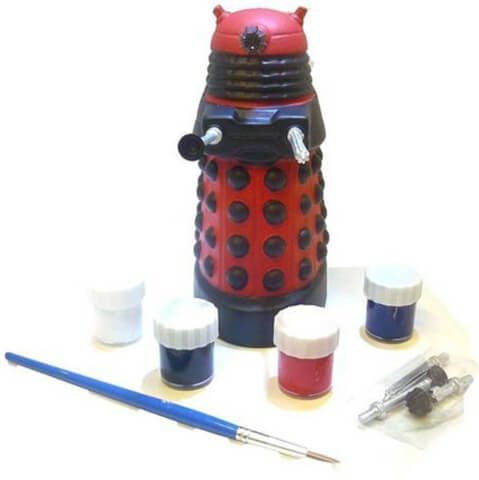 Doctor Who Paint Your Own Dalek Money Bank