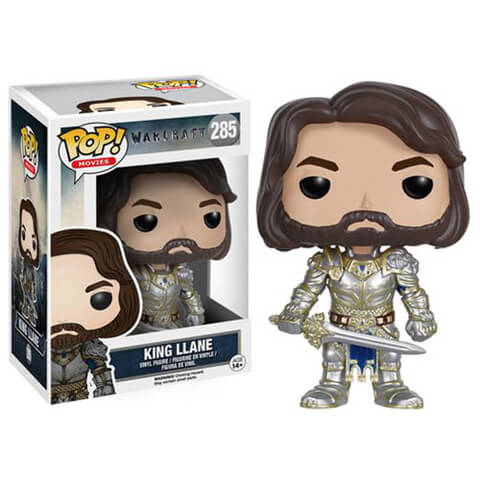 Warcraft King Llane Funko Pop! Figuur