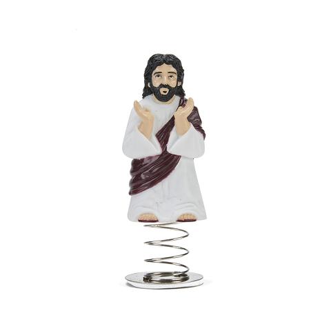 Jésus à Tête Branlante pour Tableau de Bord