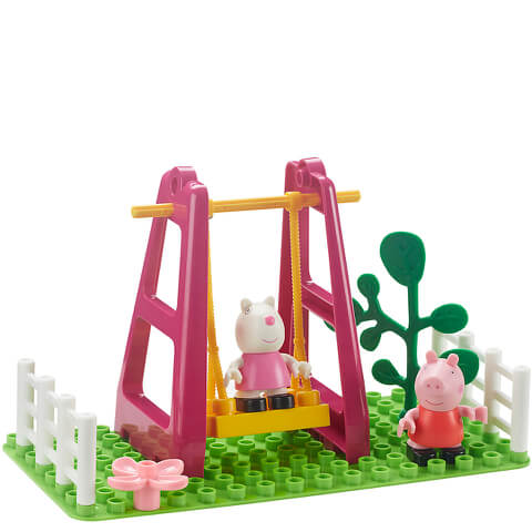 Peppa Pig Construction: Playground Swing Set