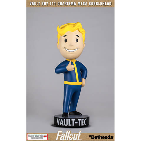 Gaming Heads Fallout 4 Vault Boy 111 15 Inch Statue