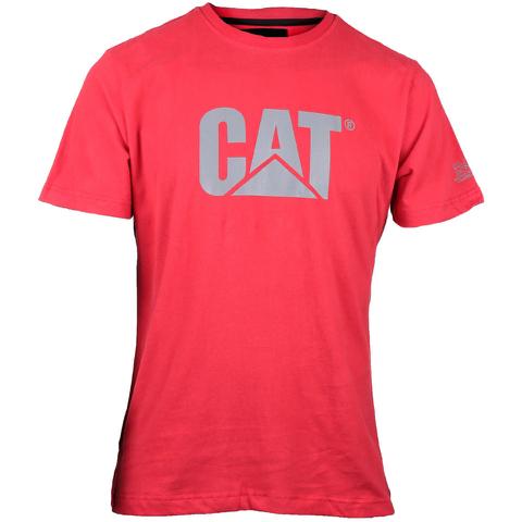 Caterpillar Men's Logo T-Shirt - Red