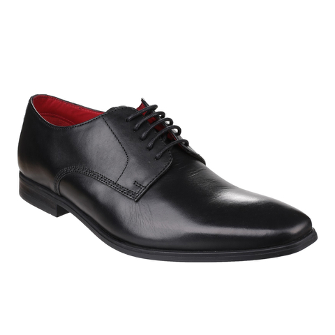 Base London Men's George Derby Shoes - Black