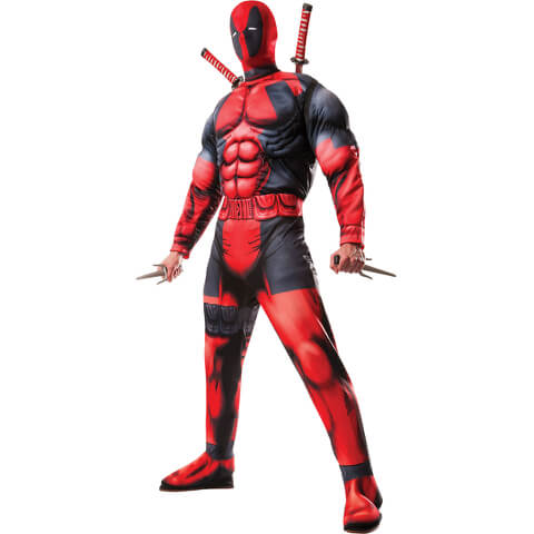 Marvel Deadpool Deluxe Men's Fancy Dress