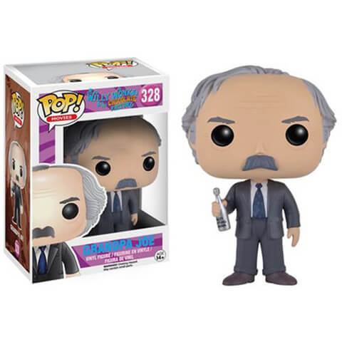 Willy Wonka and the Chocolate Factory Grandpa Joe Funko Pop! Figuur
