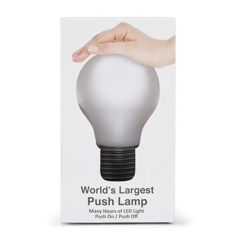Worlds Largest Push Lamp