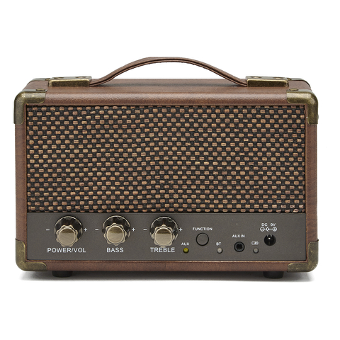 GPO Retro Mini Westwood Bluetooth Speaker - Brown