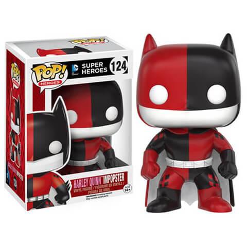 Figurine Pop! Batman Impopster Batman Harley Quinn