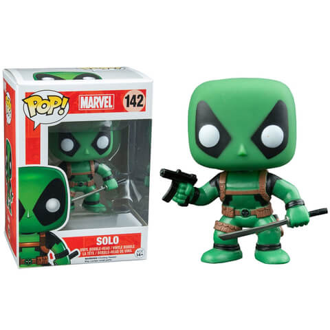 Deadpool Rainbow Squad Solo Pop! Vinyl Figure