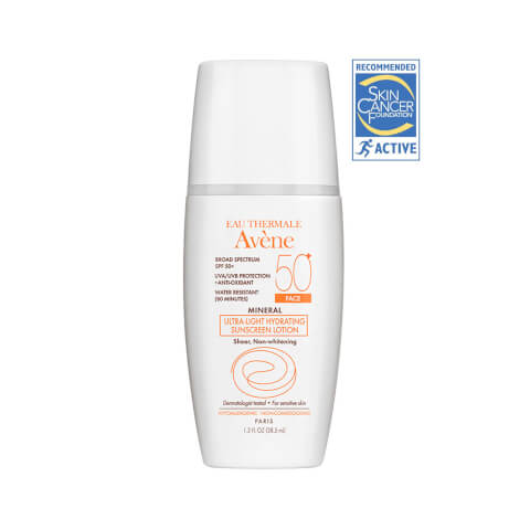 Avène Mineral Ultra-light Hydrating Sunscreen Lotion SPF 50+