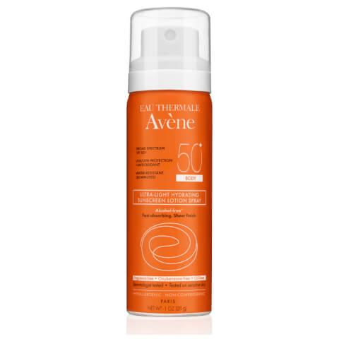 Avène Ultra-Light Hydrating Sunscreen Lotion Spray Body SPF50 1fl. oz