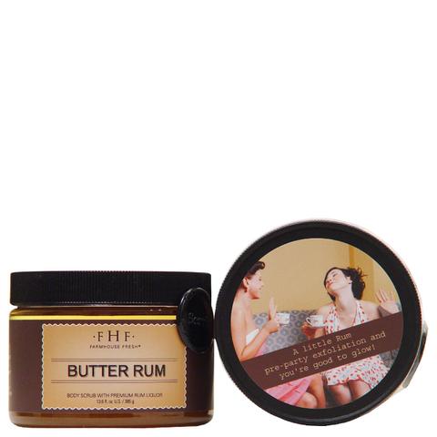 FarmHouse Fresh Butter Rum Brown Sugar Body Scrub
