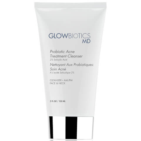 Glowbiotics Probiotic Acne Treatment Cleanser (2% Salicylic Acid)