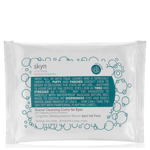 skyn ICELAND Glacial Cleansing Cloths for Eyes