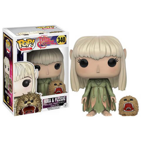 Dark Crystal Kira and Fizzgig Pop! Vinyl Figure