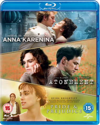 Joe Wright Dreierpack (Resleeve) Anna Karenina, Abbitte & Stolz & Vorurteil