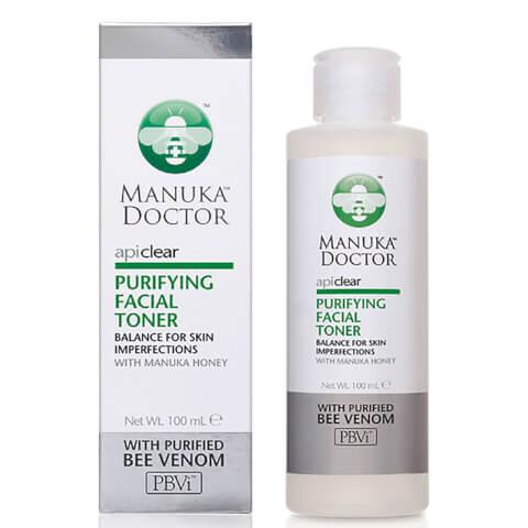 Manuka Doctor ApiClear Purifying Facial Toner 100ml