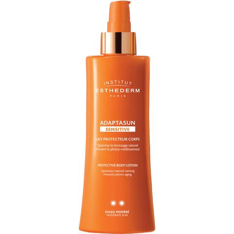 Institut Esthederm Adaptasun Sensitive Skin Body Lotion Moderate Sun 200ml