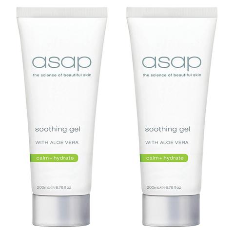 2x asap soothing gel 200ml